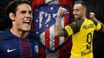 El Atlético de Madrid ya tiene 6 alternativas para el ataque