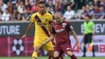 El FC Barcelona se encomienda a Sergio Busquets