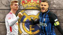 Un póker de opciones para el ataque del Real Madrid