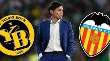 Las alineaciones del Valencia – Young Boys