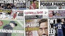 Las condiciones del FC Barcelona para fichar a Neymar, el United recibe unas calabazas de 56 M€, el Sevilla avanza por Luis Alberto