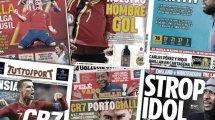 El FC Barcelona se plantea fichar un recambio para Umtiti, el emotivo adiós de David Villa, el fichaje que ansía el Real Betis