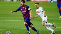 El FC Barcelona también contiene la respiración por Lionel Messi
