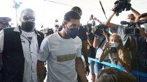 Neymar ya celebra la llegada de Lionel Messi