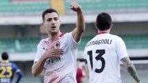 El Nápoles se anota un objetivo en el AC Milan