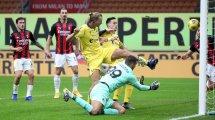Serie A   Ibrahimovic rescata al AC Milan frente al Hellas Verona