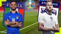 Confirmados los onces de Italia e Inglaterra
