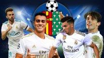 El Getafe tiene 4 objetivos en el Real Madrid