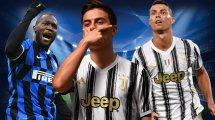 El once tipo de los salarios más altos de la Serie A