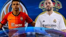 ¡Ya hay onces del Shakhtar Donetsk - Real Madrid!