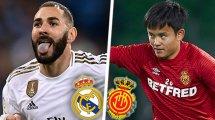 ¡Ya hay onces del Real Madrid - Real Mallorca!
