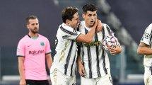 Álvaro Morata seguirá en la Juventus de Turín