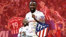 Moussa Dembélé, novedad en la convocatoria del Atlético de Madrid