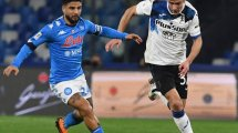 Coppa de Italia   Combate nulo entre Nápoles y Atalanta en su primer asalto