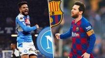 Ya hay onces del Nápoles - FC Barcelona