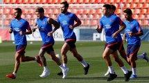 El Atlético de Madrid cierra el adiós de Nehuén Pérez