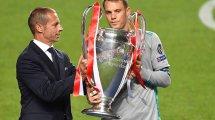 Manuel Neuer echa un guante a los arqueros de España