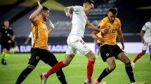 Europa League | El Sevilla noquea a los 'Wolves' y pasa a semifinales