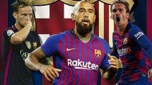 FC Barcelona | 8 jugadores en la rampa de salida