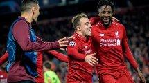 Los nueve descartes del Liverpool 2021-2022