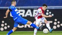 Sevilla   El Ajax le tiende la mano a Oussama Idrissi