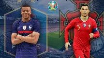 Ya hay alineaciones de Portugal y Francia
