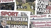 Las 3 grandes tareas del FC Barcelona, la preocupación del AC Milan