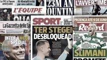 El FC Barcelona logra su objetivo con Ter Stegen, Gonzalo Higuaín se marcha de la Juventus