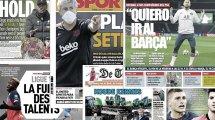 """El """"problema"""" de Zidane en el regreso de la temporada, Miralem Pjanic solo piensa en el FC Barcelona"""