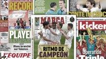 La predicción de Javier Tebas para el mercado estival, el FC Barcelona rebaja el precio de Rakitic, Kang In Lee quiere abandonar el Valencia