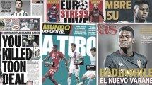 Tres opciones para el FC Barcelona en 2021, la Juventus puede destituir a Sarri