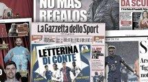 Nadie quiere quedarse atrás en la lucha por la Liga, el Valencia se aferra a Guedes, los deseos ofensivos de Inter y AC Milan