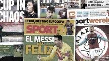 El Atlético no tiene dudas con Simeone, los fichajes que planean Juventus y AC Milan, Franco Vázquez busca nuevos retos