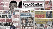 Sergio Ramos y Leo Messi se quedan sin equipo, el Sevilla acecha a Guedes, el AC Milan valora el fichaje de un talento danés