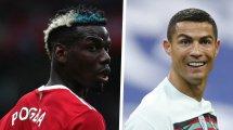 Paul Pogba y Cristiano Ronaldo, los 2 sensacionales fichajes que quiere el PSG para 2022