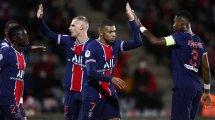 El PSG golea en Nimes