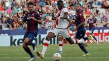 Liga | El Rayo Vallecano rescata un punto en el feudo del Levante