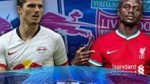 Las alineaciones del RB Leipzig - Liverpool