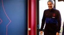 FC Barcelona | Setién y Piqué, preparados para la cita con el Nápoles