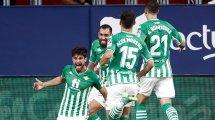 Liga   El Real Betis doblega a Osasuna a domicilio