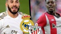 ¡Ya hay onces del Real Madrid - Athletic Club!