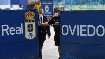 El Real Oviedo le da la bienvenida a Borja Bastón