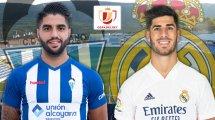 Confirmados los onces de Alcoyano y Real Madrid