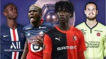 Las grandes revelaciones de la temporada en la Ligue 1