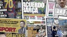 Los jugadores del FC Barcelona se hartan de la directiva, Real Madrid y Sevilla cruzan intereses, el empeño de la Liga por acabar la temporada