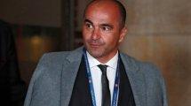 Roberto Martínez alude a su futuro y echa un capote a Hazard