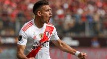 Rafael Santos Borré se distancia del Atlético de Madrid
