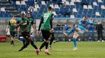 Serie A   Lluvia de goles entre Sassuolo y Nápoles en un final de locura