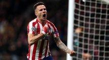Saúl alude a su futuro en el Atlético de Madrid
