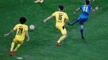 Sebastián Driussi abandona el Zenit